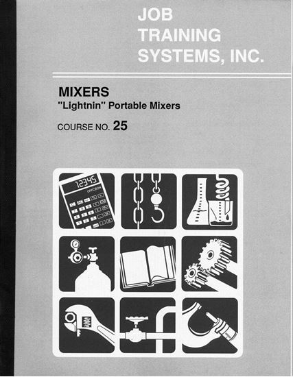 "Picture of Mixers –""Lightnin"" Portable Mixers - Course No. 25"