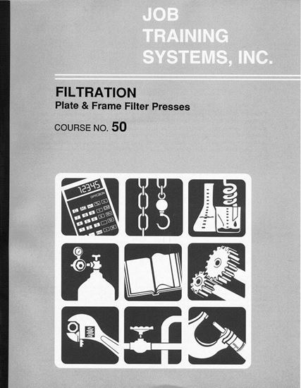 Picture of Filtration – Plate and Frame Filter Presses - Course No. 50