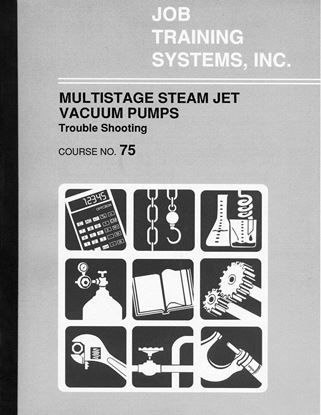 Picture of Multistage Steam Jet Vacuum Pumps – Troubleshooting - Course No. 75