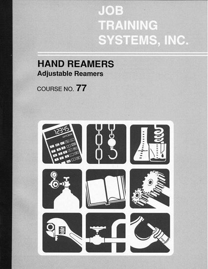Picture of Adjustable Hand Reamers - Course No. 77