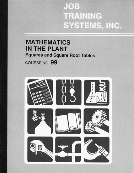 Picture of Plant Mathematics – Squares and Square Root Tables - Course No. 99