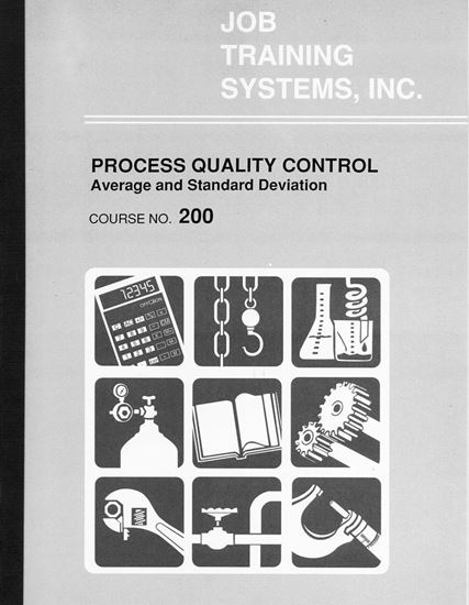 Picture of Process Quality Control - Average & Standard Deviation - Course No. 200