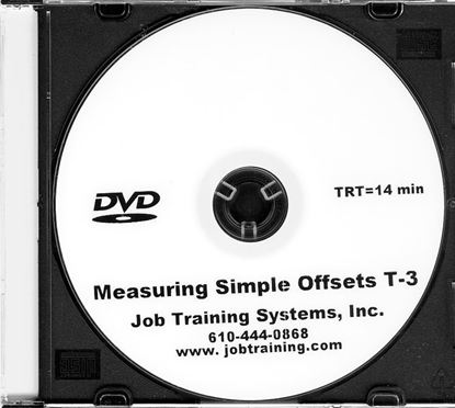 Picture of Measuring Simple Offsets - DVD No. T-3