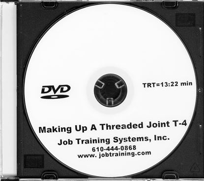 Picture of Making Up A Threaded Joint - DVD No. T-4