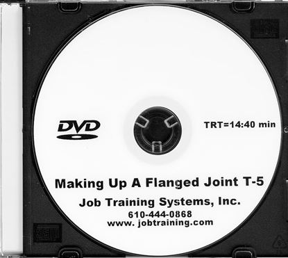 Picture of Making Up a Flanged Joint - DVD No. T-5