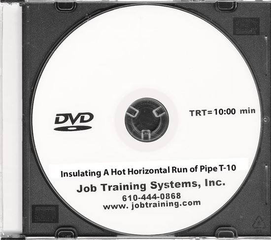 Picture of Insulating A Hot Horizontal Run of Pipe - DVD No. T-10