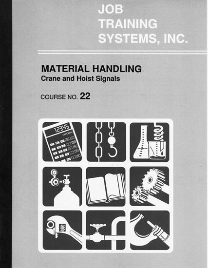 Picture of Material Handling - Crane and Hoist Signals - Course No. 22