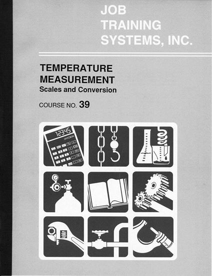 Picture of Temperature Measurement – Scales and Conversion - Course No. 39