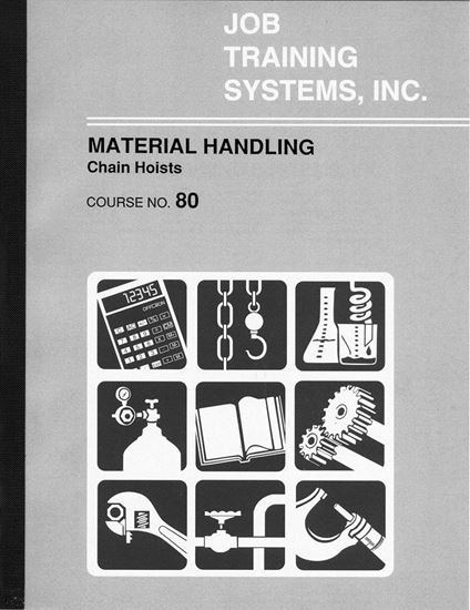 Picture of Material Handling – Chain Hoists - Course No. 80