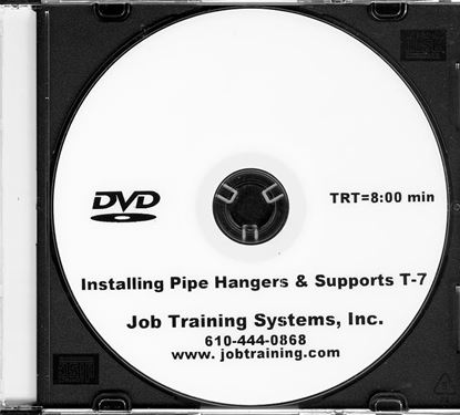 Picture of Installing Pipe Hangers & Supports - DVD No. T-7