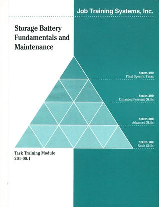Picture of 201-09.1 Storage Battery Fundamentals & Maintenance