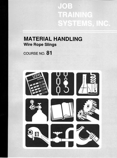 Picture of Material Handling – Wire Rope Slings - Course No. 81